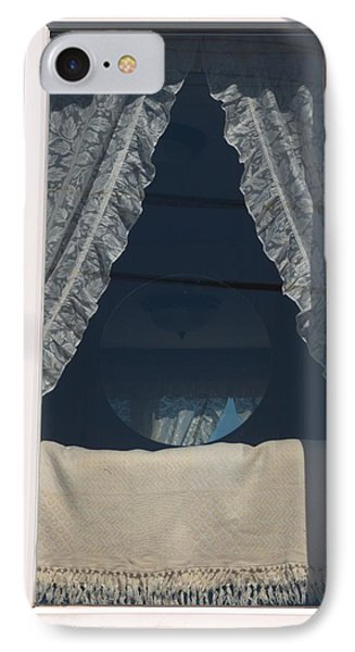 IPhone Case featuring the photograph Lace Curtain 1 by Douglas Pike