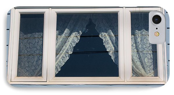 IPhone Case featuring the photograph Lace Curtains 2 by Douglas Pike