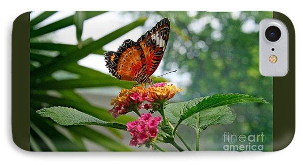 Lacewing Butterfly Phone Case by Karen Adams