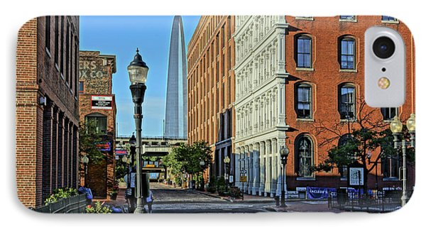 Laclede's Landing Just North Of The Arch IPhone Case