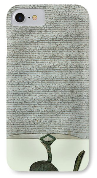 Lacock Abbey Magna Carta IPhone Case by British Library