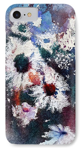 IPhone Case featuring the painting Lacy Petals by Joan Hartenstein
