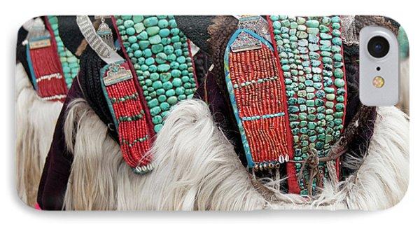 Ladakh, India Married Ladakhi Women IPhone Case by Jaina Mishra