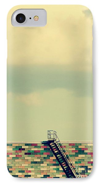 Ladder To Nowhere  Phone Case by Trish Mistric