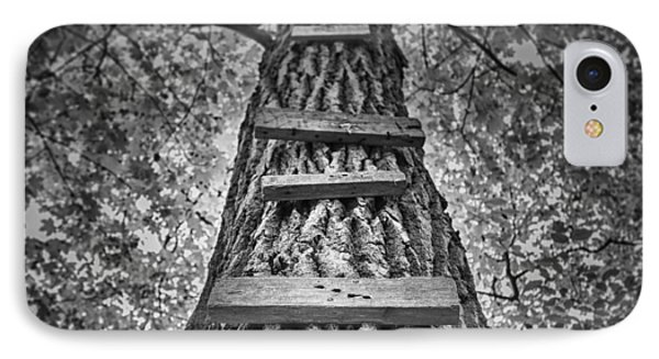 Ladder To The Treehouse IPhone Case by Scott Norris