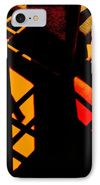 Ladderback Flamenco IPhone Case by Lin Haring