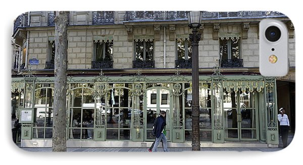 Laderee On The Champs De Elysees In Paris France  IPhone Case