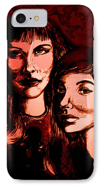 Ladies Night Phone Case by Natalie Holland