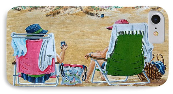 Ladies On The Beach IPhone Case