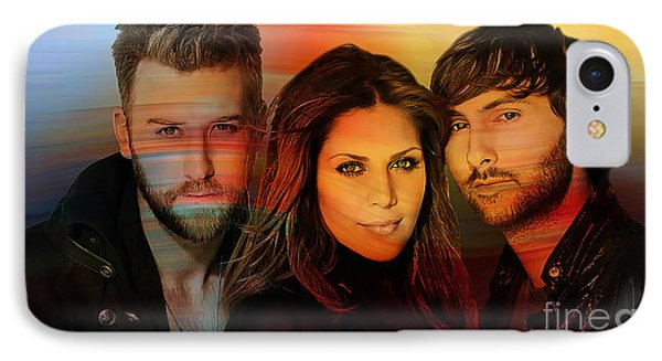 Lady Antebellum IPhone Case by Marvin Blaine
