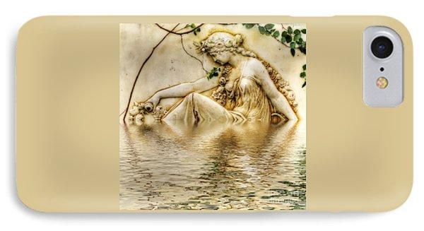 Lady Bathing 2 IPhone Case by Kaye Menner