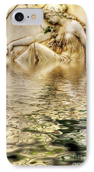 Lady Bathing IPhone Case by Kaye Menner