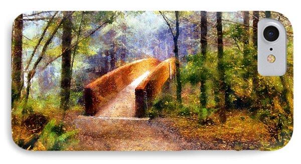 Lady Bird Johnson Grove Bridge IPhone Case by Kaylee Mason