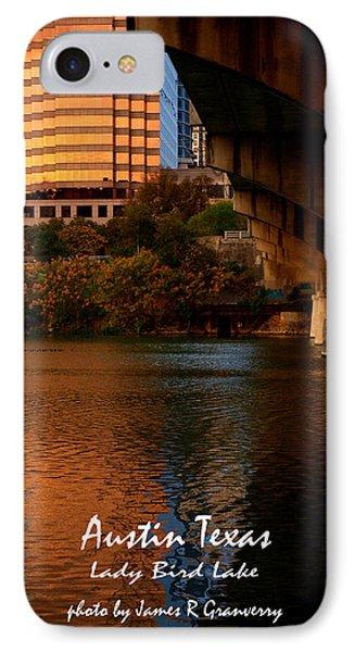 Lady Bird Lake In Fall IPhone Case