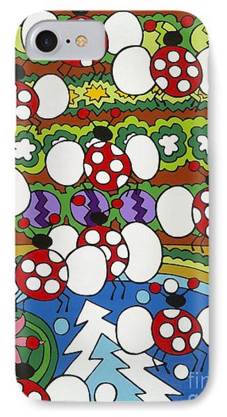 Lady Bugs IPhone Case