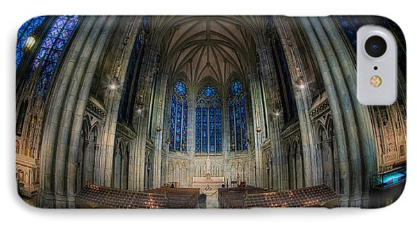 Lady Chapel At St Patrick's Catheral Phone Case by Jerry Fornarotto