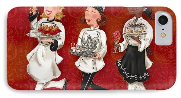 Lady Chefs - Brunch IPhone Case by Shari Warren