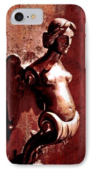 Lady Door Knocker IPhone Case by Greg Sharpe