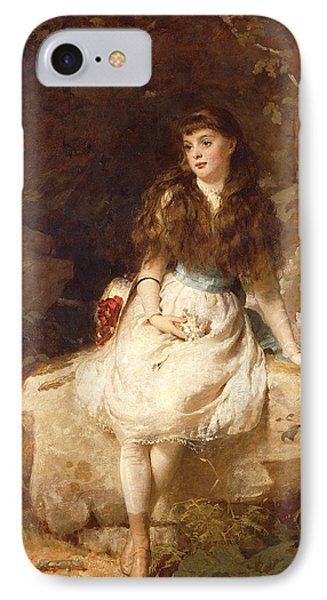Lady Edith Amelia Ward Daughter Of The First Earl Of Dudley IPhone Case