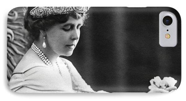 Queen Elizabeth The Queen Mother IPhone Case by Underwood Archives