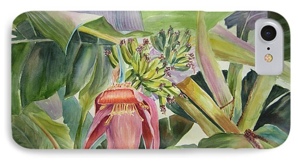 Lady Fingers - Banana Tree IPhone Case