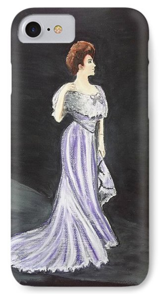 Lady In Gown IPhone Case