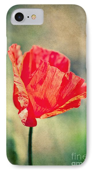 Lady In Red Phone Case by Angela Doelling AD DESIGN Photo and PhotoArt