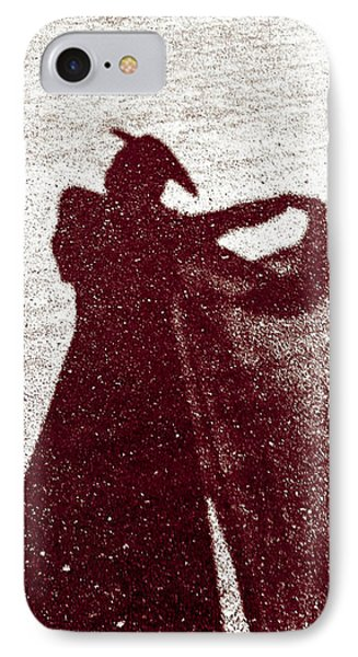 Lady In Red Phone Case by Caitlyn  Grasso