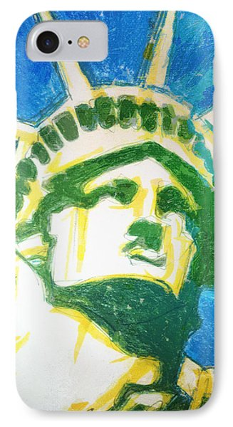 Lady Liberty IPhone Case by Jerrett Dornbusch