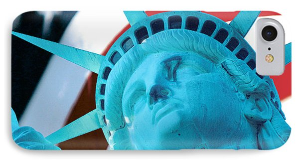 IPhone Case featuring the photograph Lady Liberty  by Jerry Fornarotto