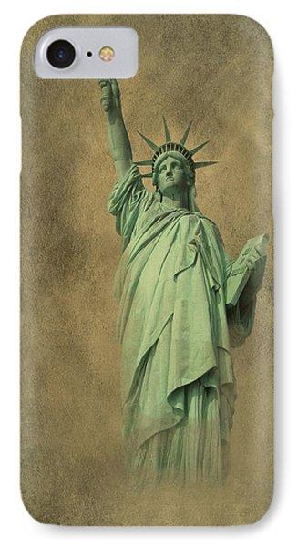 Lady Liberty New York Harbor Phone Case by David Dehner
