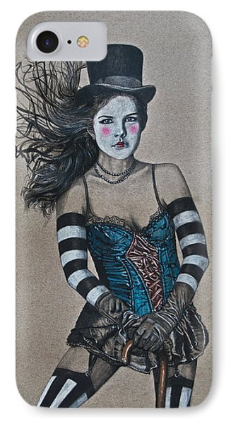 Lady Of A Different Stripe IPhone Case