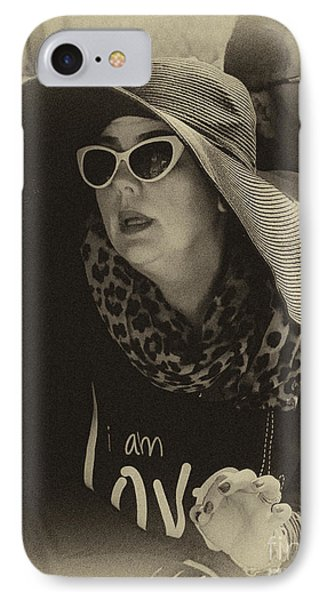Lady Of Fashion Phone Case by Rene Triay Photography