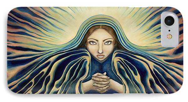 Lady Of Light Phone Case by Lyn Pacificar