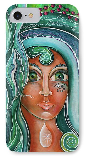 IPhone Case featuring the painting Lady Of Lourdes Madonna by Deborha Kerr