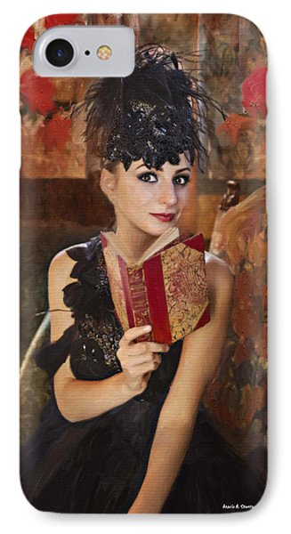 Lady Of Means In Olden Times Phone Case by Angela A Stanton
