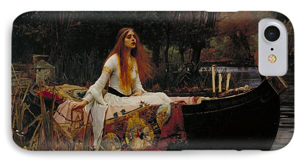Lady Of Shalott Phone Case by John William Waterhouse
