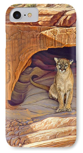 Lady Of The Canyon IPhone Case by Paul Krapf