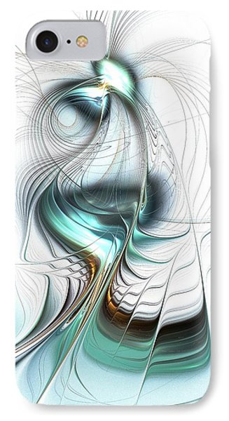Lady Of The Lake IPhone Case by Anastasiya Malakhova