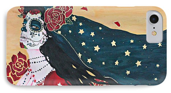 Lady Of The Roses IPhone Case by Sonia Orban-Price