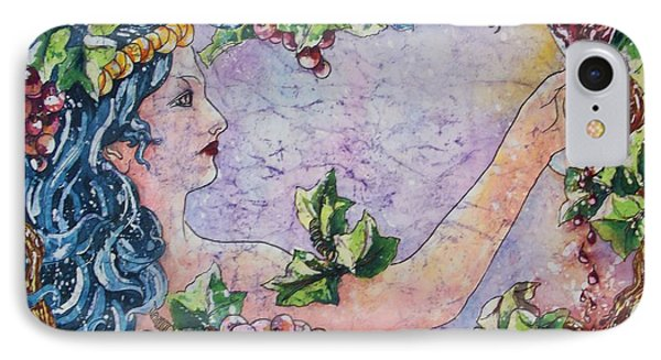 Lady Of The Vine IPhone Case