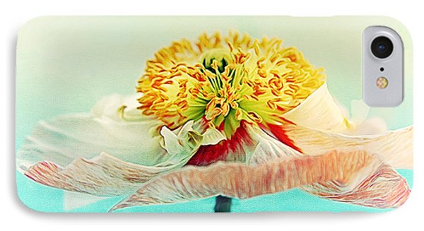 Lady Poppy 2 IPhone Case by Angela Doelling AD DESIGN Photo and PhotoArt
