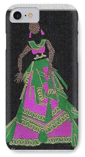 Lady Singer Phone Case by Ruth Yvonne Ash