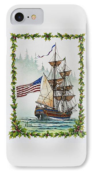 Lady Washington And Holly Phone Case by James Williamson