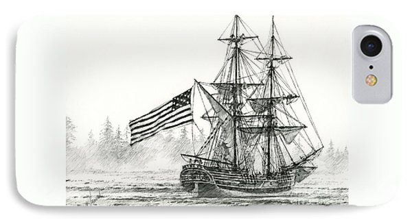 Lady Washington At Friendly Cove IPhone Case by James Williamson
