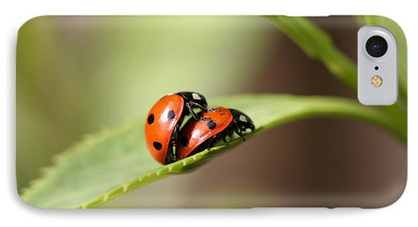 Ladybird Love Phone Case by Mark Severn