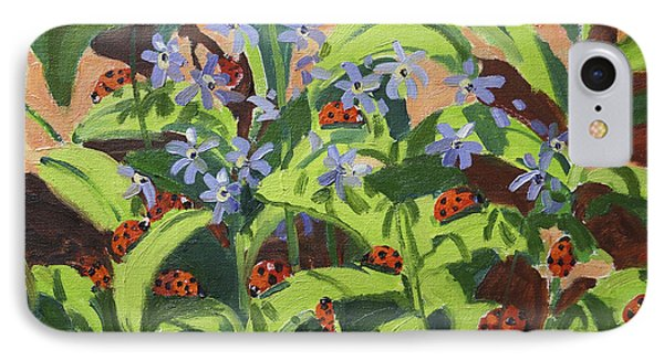 Ladybirds IPhone 7 Case by Andrew Macara