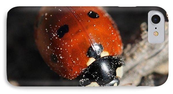 Ladybug Phone Case by Lorri Crossno
