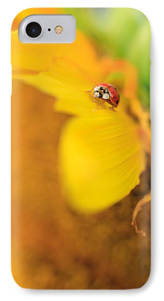 Ladybug Phone Case by Rebecca Skinner
