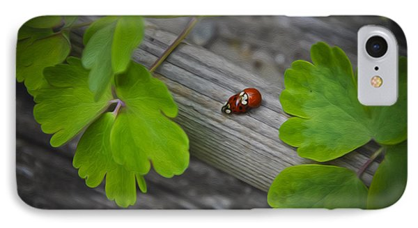 Ladybugs Mating Phone Case by Aged Pixel